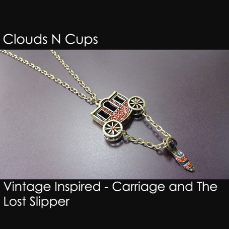 CNC-LN006 - CARRIAGE AND THE LOST SLIPPER