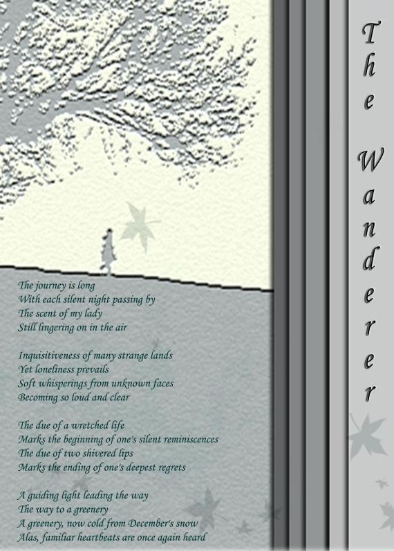 The Wanderer (Peom) - 25-1-2013
