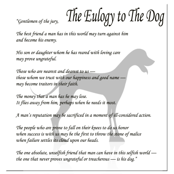 The Dog Eulogy - Part 1