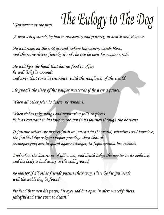 The Dog Eulogy - Part 2