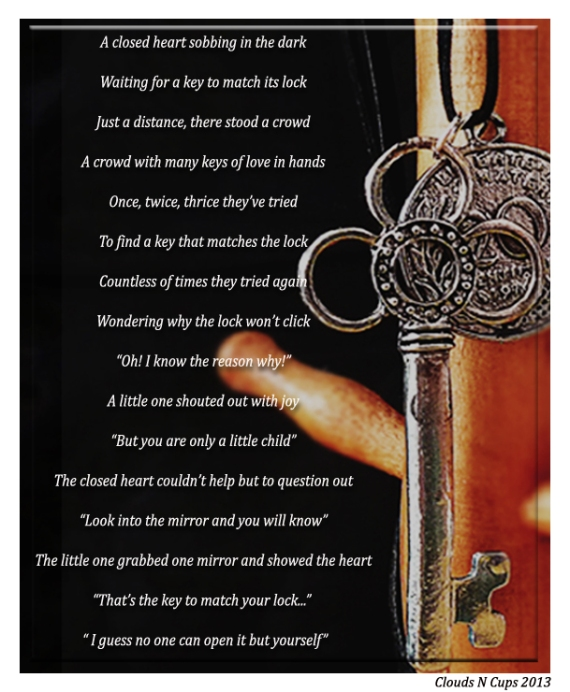 Who Has The Key (Peom) - 19-2-2013