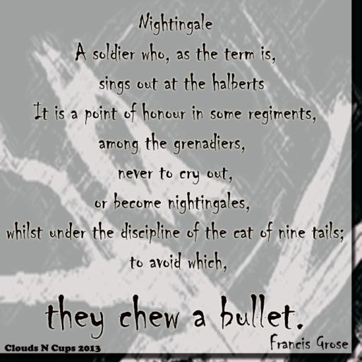 15042013 - Chew A Bullet