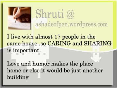 Let's Play - Home Sweet Home 3 - Shruti - Caring and Sharing