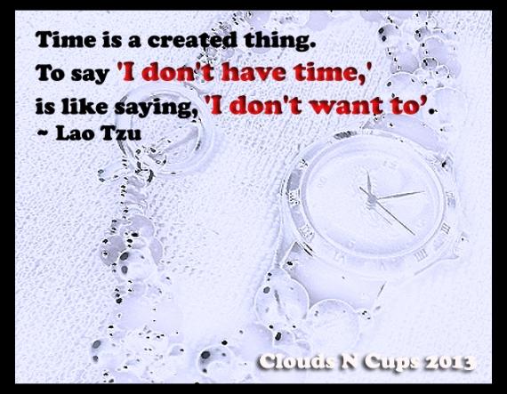 05092013 - Time - Lao Tzu