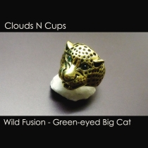 CNC-FSR008 - GREEN-EYED BIG CAT