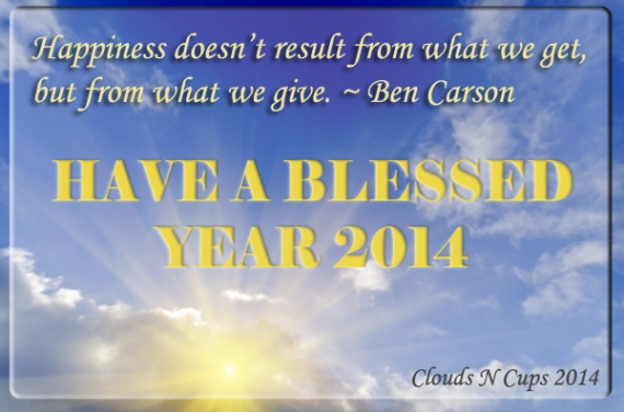 Blessed Year 2014