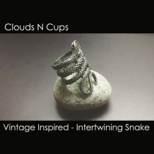 CNC-FSR009-INTERTWINING-SNAKE-OLD-SILVER