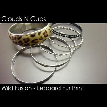 CNC-ST002 - LEOPARD FUR PRINT STACK